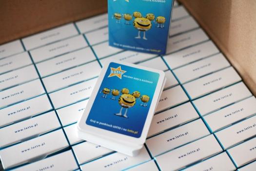 karty do gry z indywidualnym nadrukiem