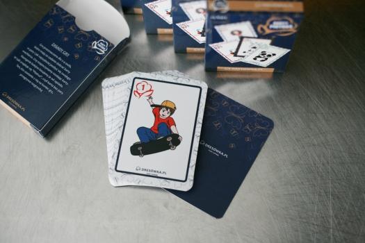 własne karty do gry
